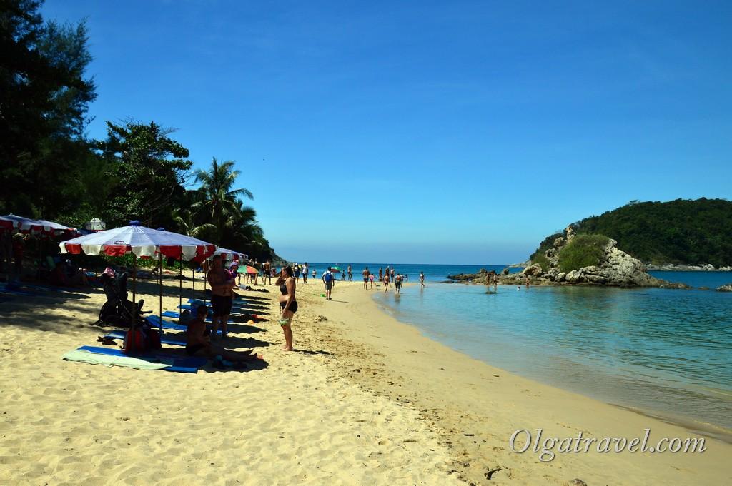 пляж Януи Пхукет