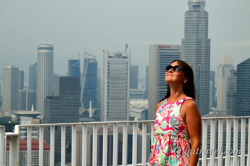 смотровая площадка сингапур