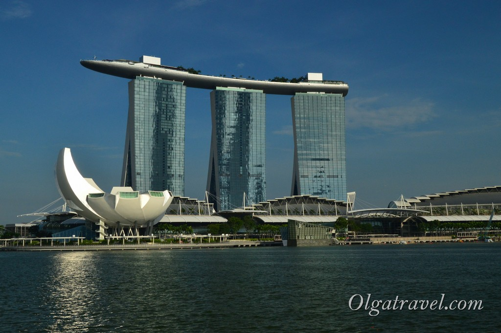 комплекс Marina Bay Sands