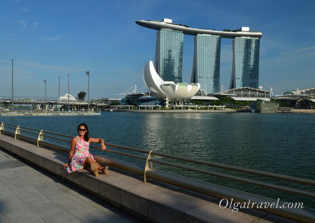 отель корабль в Сингапуре