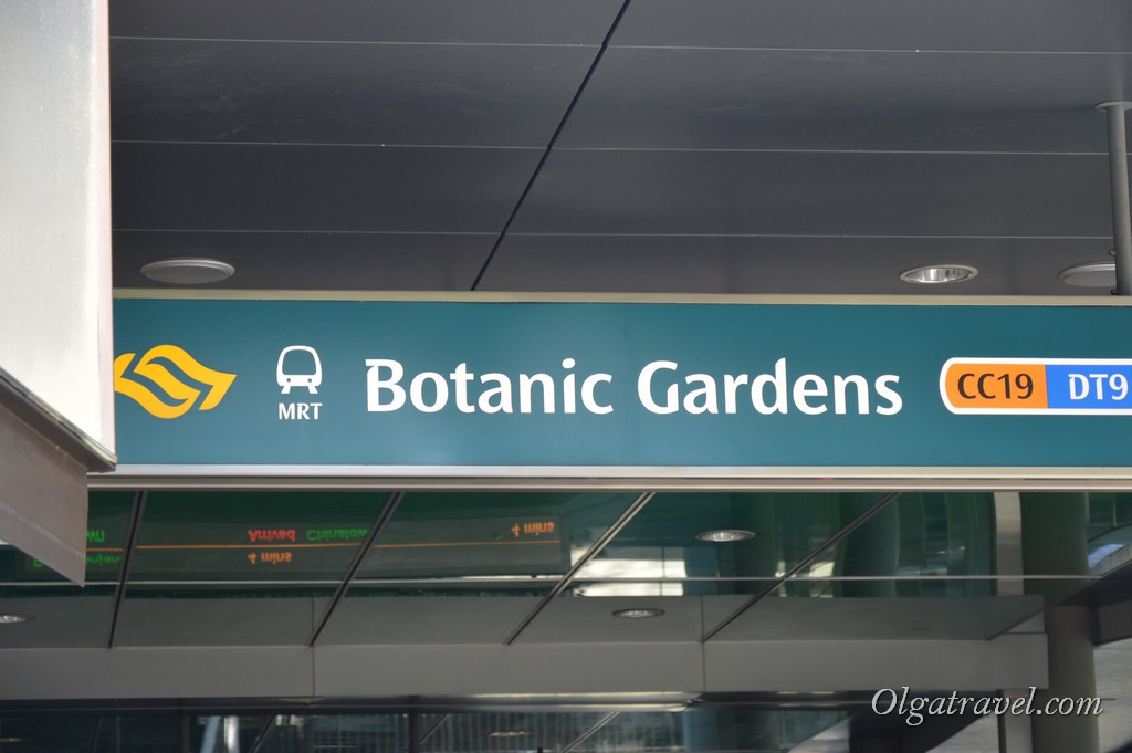 сингапур ботанический сад как добраться
