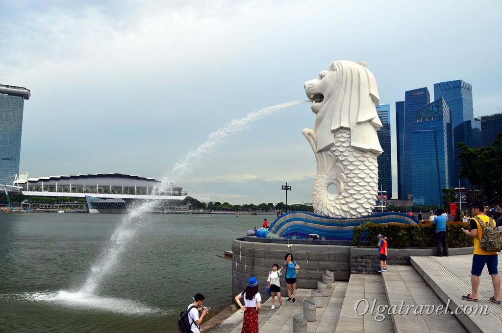 Мерлион символ Сингапура