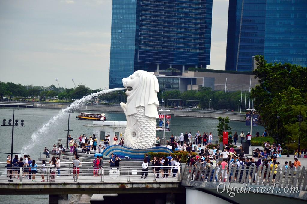 Мерлион Сингапур