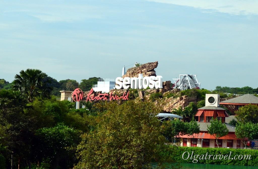 Остров Сентоза в Сингапуре что посмотреть и чем заняться