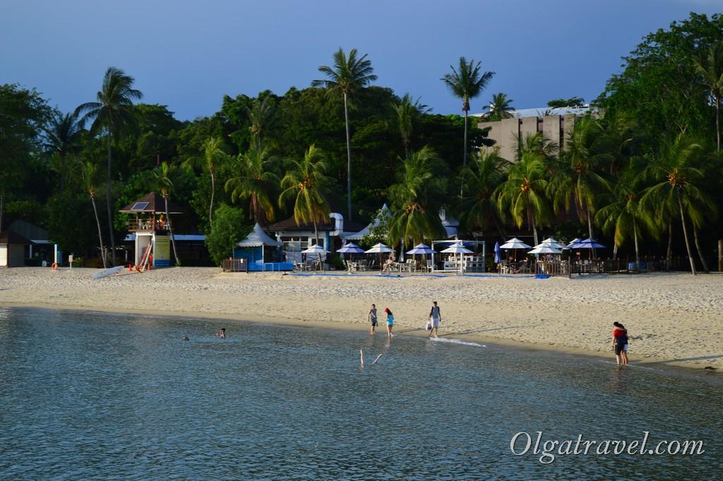 Сентоза пляж