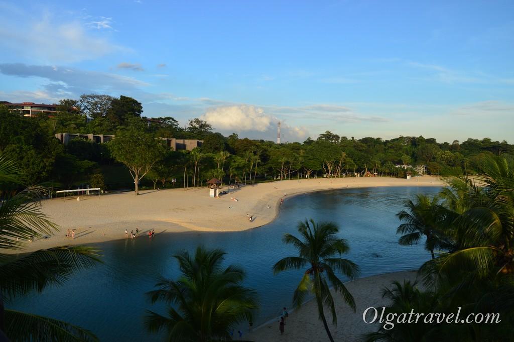 пляж Сентоза