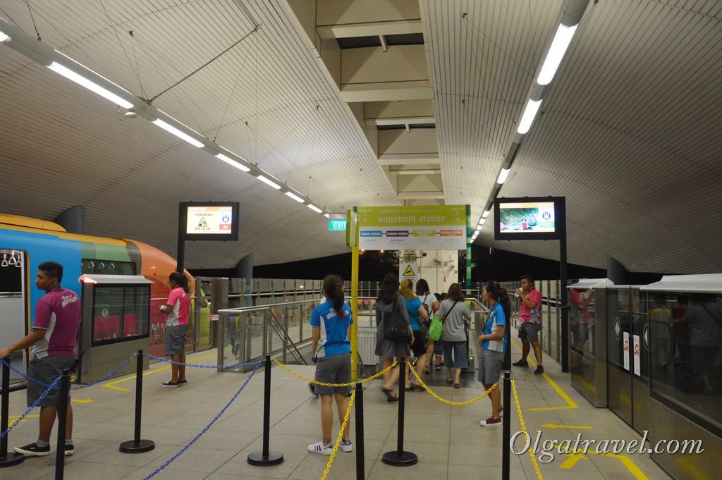 монорельс Сингапур