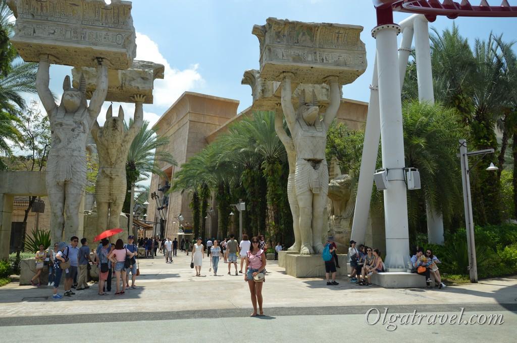 парк Юниверсал в Сингапуре