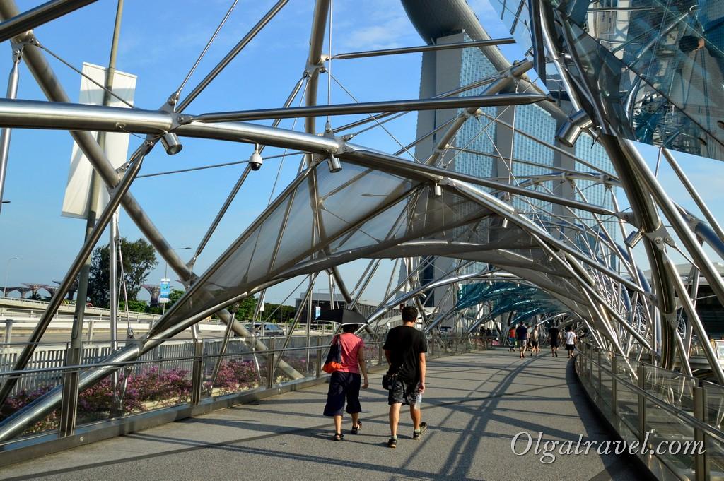 мост ДНК Сингапур