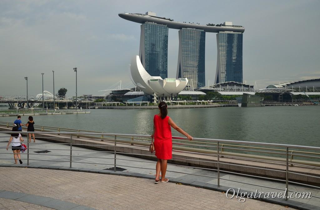 маршрут по Сингапуру
