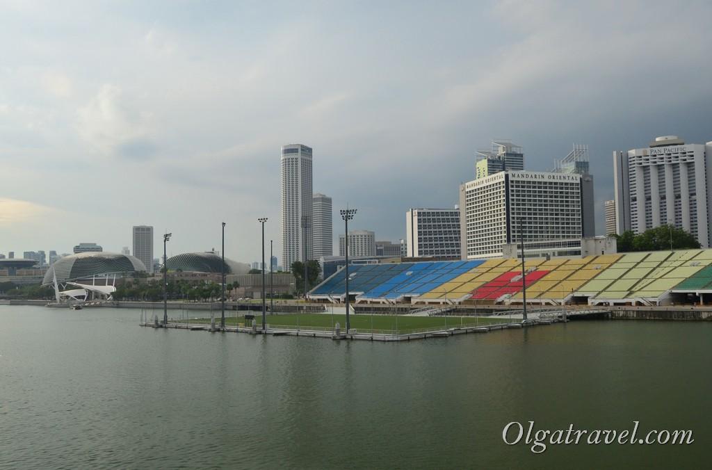театр Эспланада Сингапур