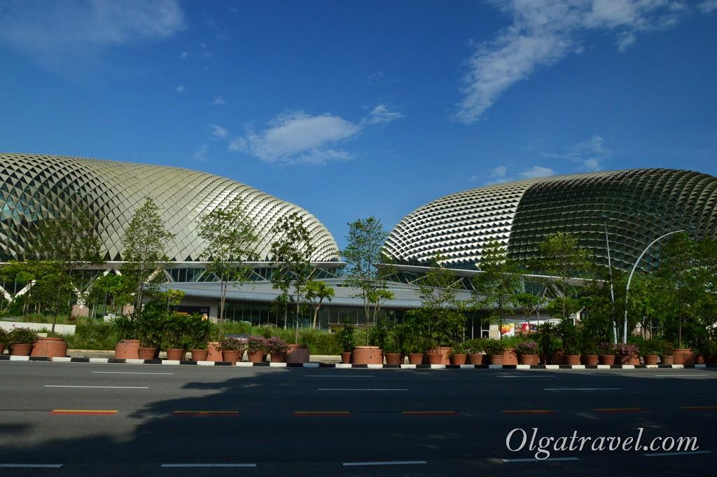 Эспланада театр Сингапур