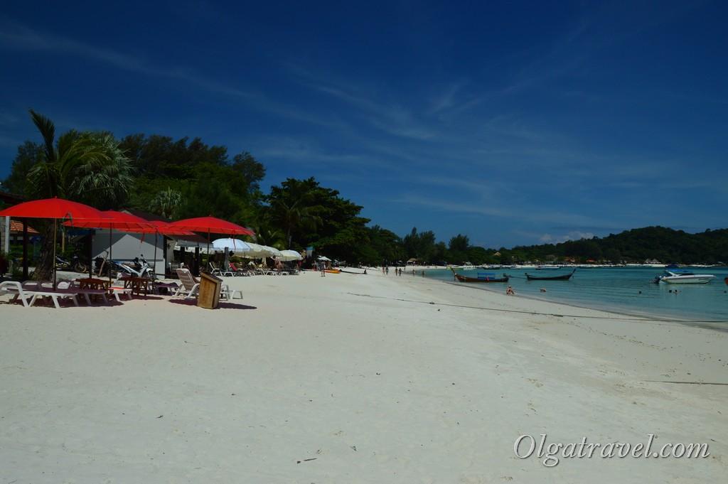 пляж Pattaya beach lipe
