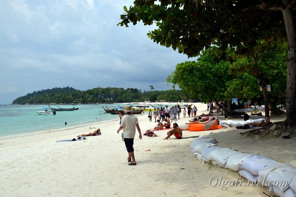 пляж Паттайя бич ко липе