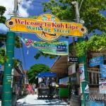 Walking street на Ко Липе – прогулочная улица в центре острова