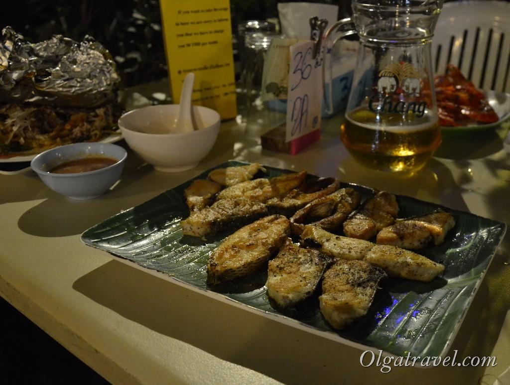 Seafood buffet ко липе