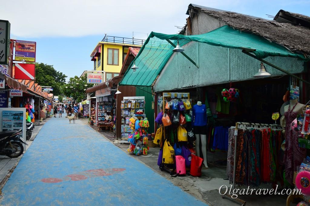 Walking street на Ко Липе