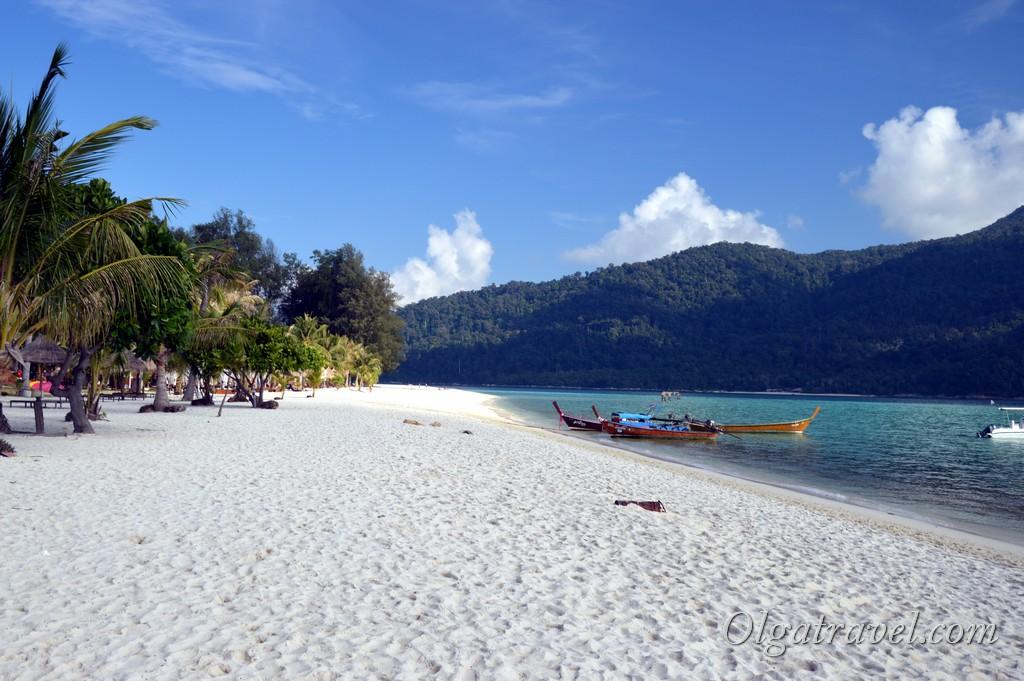 пляж Lipe beach resort