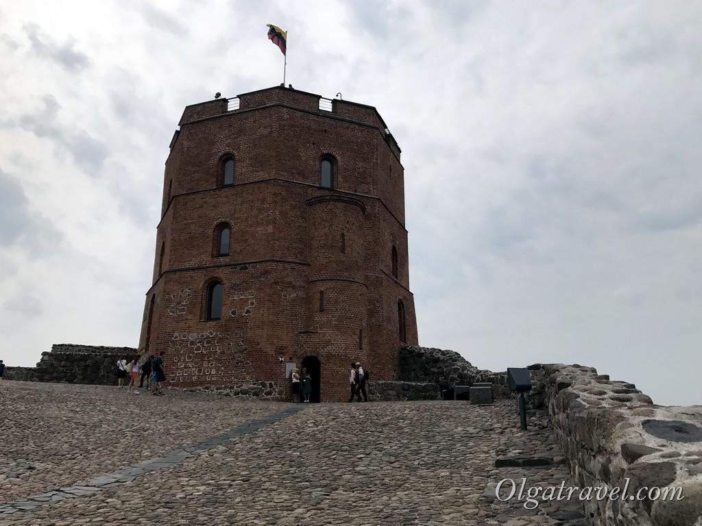 башня Гедимина Вильнюс