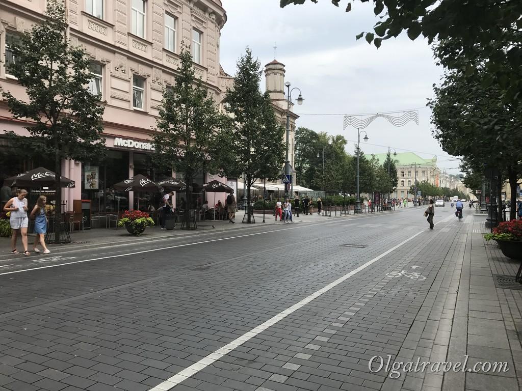 проспект Гедимина Вильнюс
