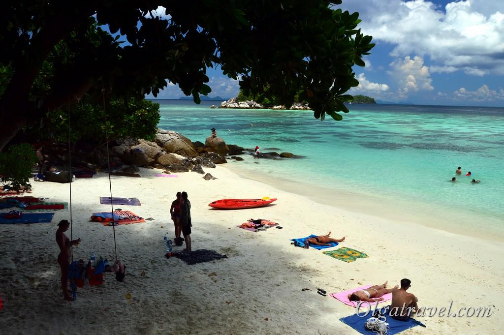 пляж Санрайз ко липе