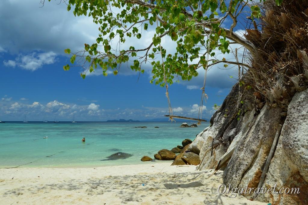 пляж санрайз бич ко липе