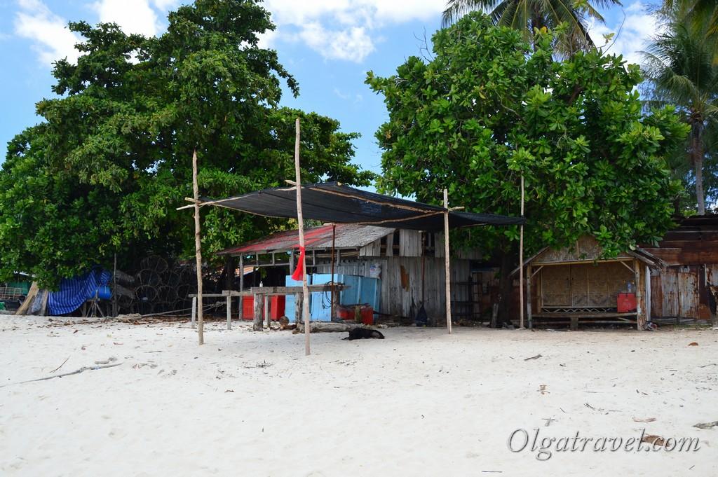 Остров Липе пляж