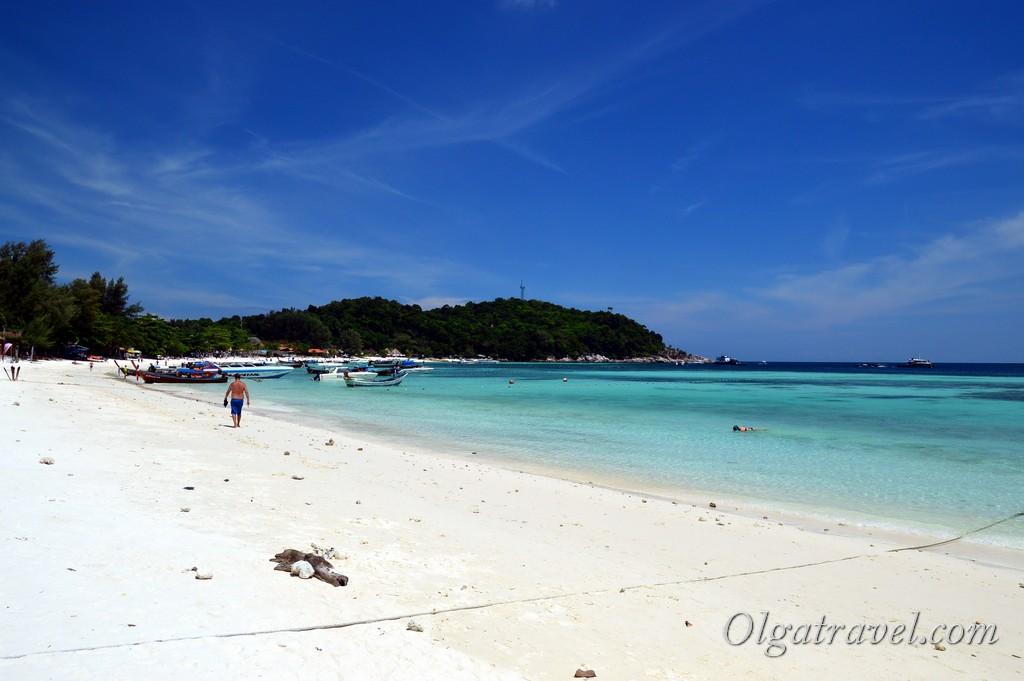 остров Липе пляжи