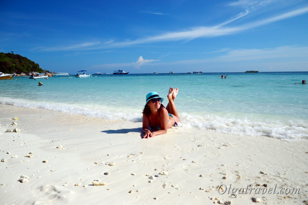 остров Ко Липе в Тайланд