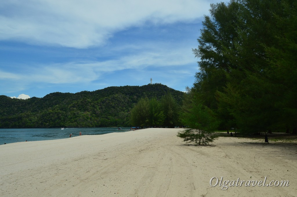 пляж Tanjung Rhu Лангкави