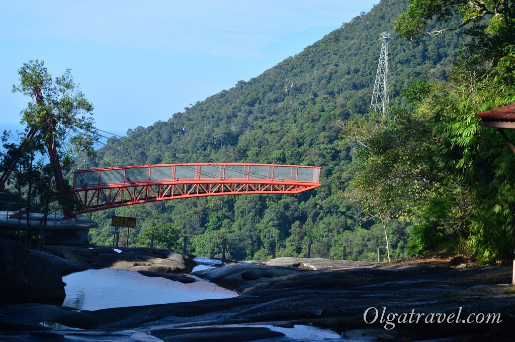 Лангкави водопады