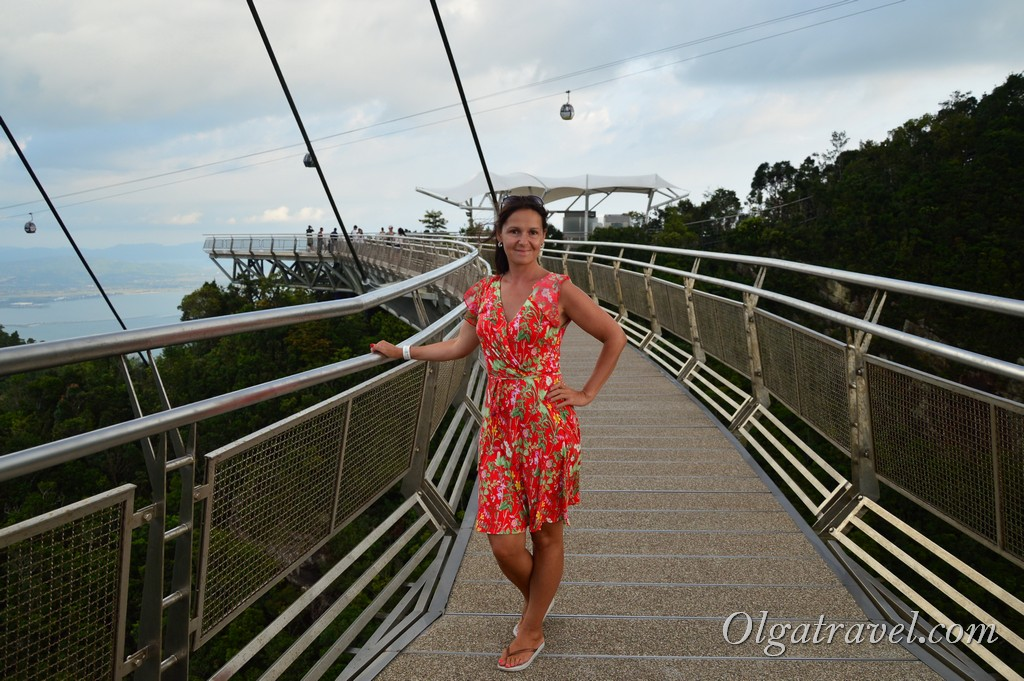 подвесной мост Лангкави