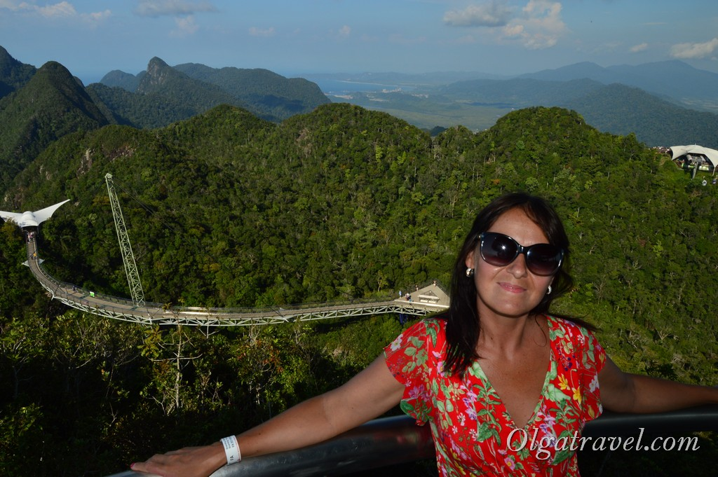 Лангкави Малайзия небесный мост