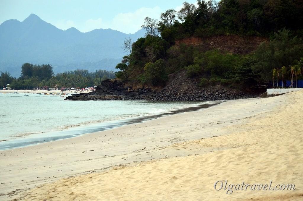 пляж Тенгах Лангкави