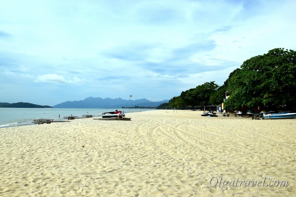 пляжи Лангкави Тенгах