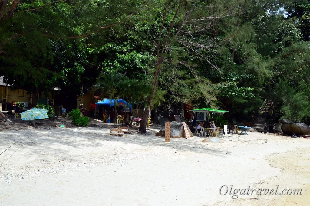 большой остров Перхентиан Малайзия