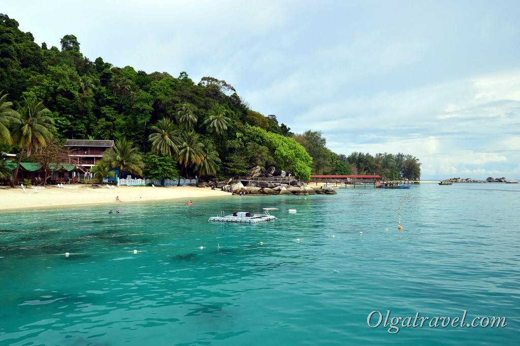 пляж Abdul's Chalet Перхентианы