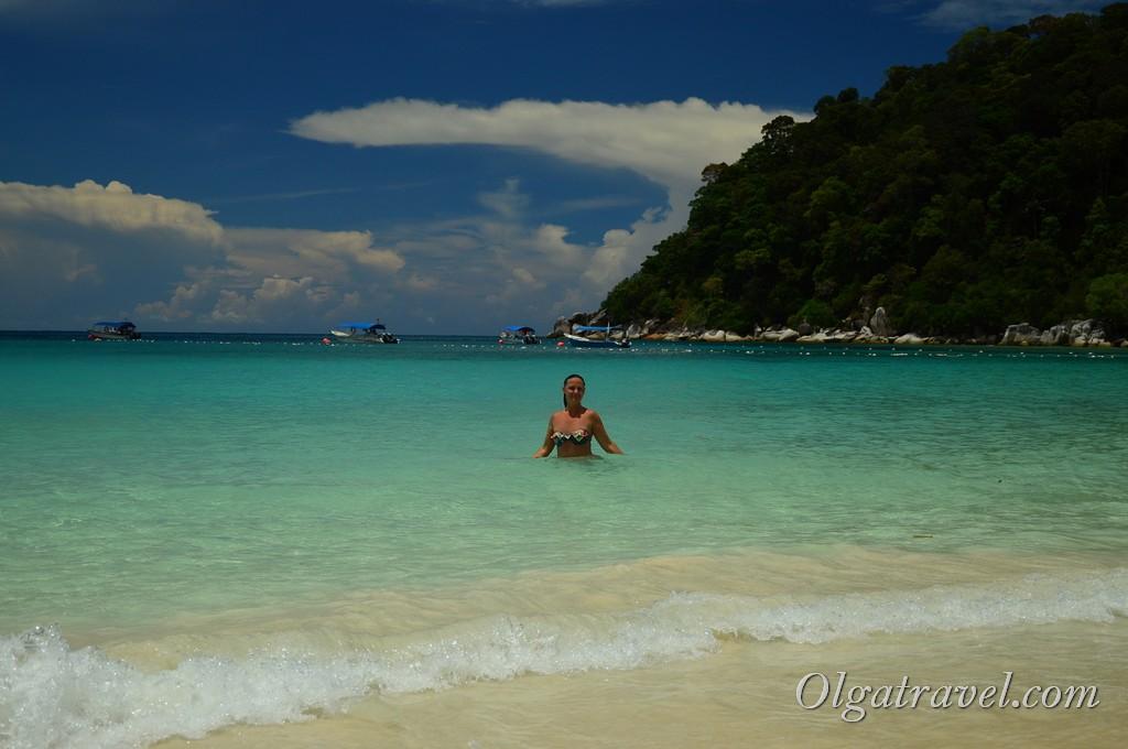 пляжи Перхентианские острова