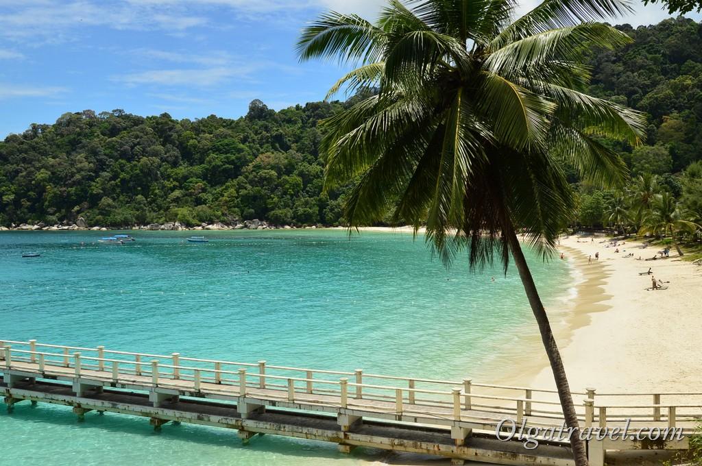 пляж Perhentian Island Resort