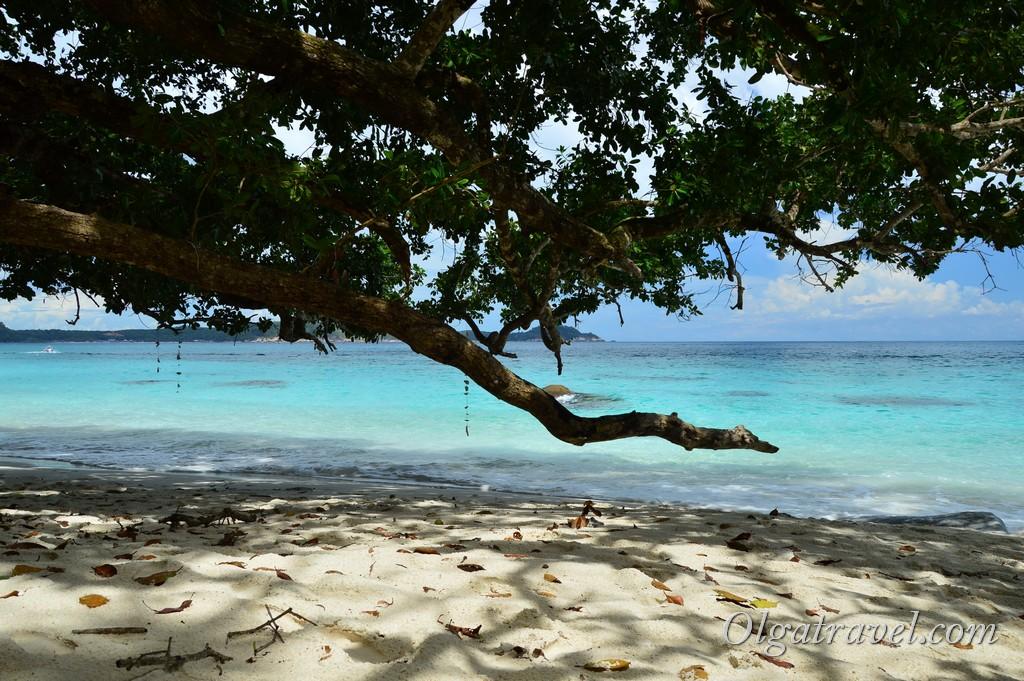 Перхентианские острова пляжи