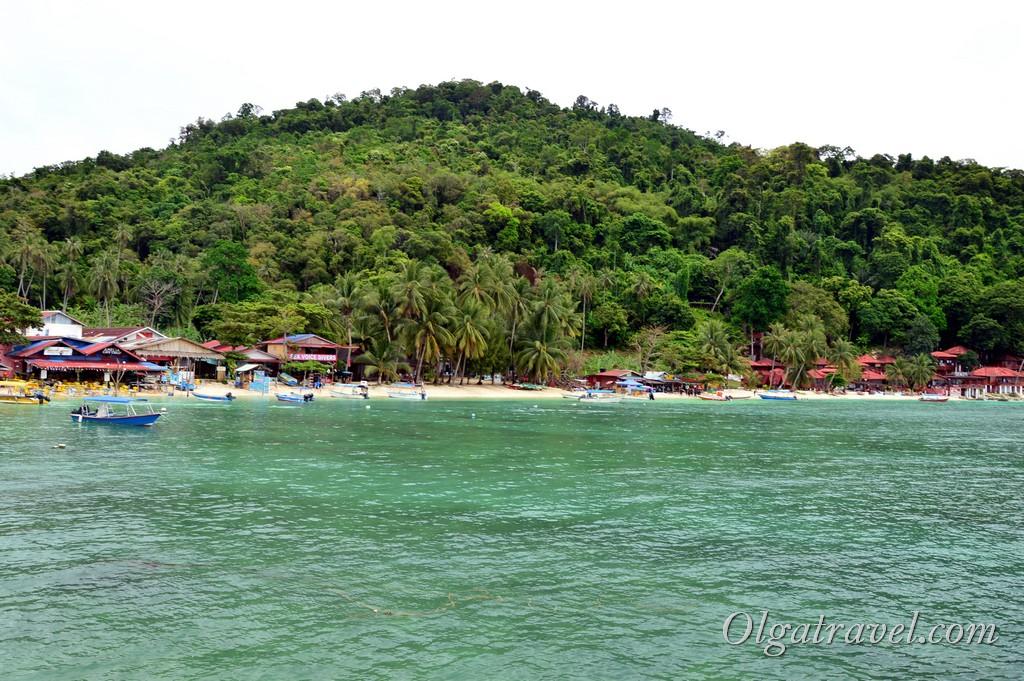 Пляж Корал Бэй Перхентиан Кечил