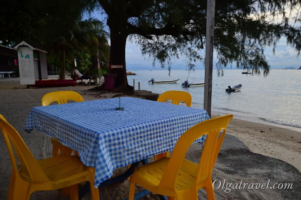 Перхентианские острова еда