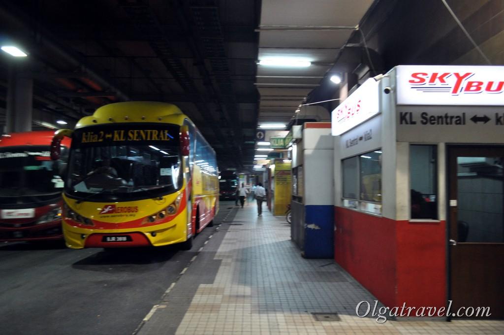 как добраться из аэропорта куала лумпур