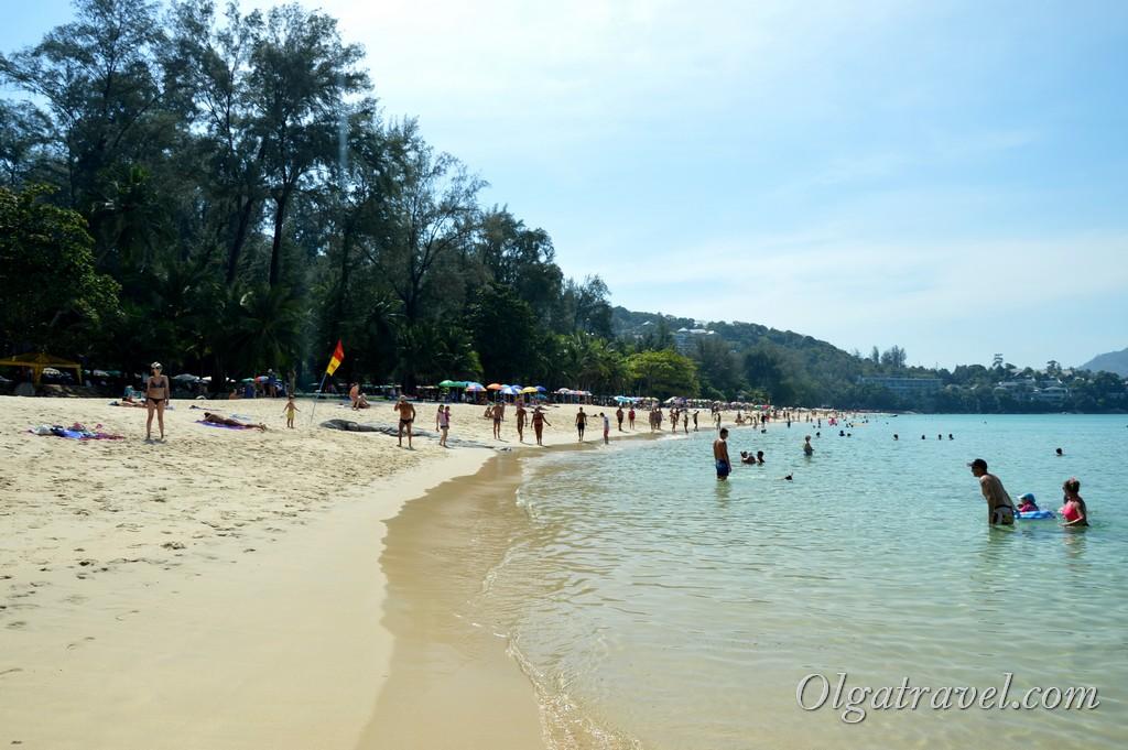 пляж Сурин бич Таиланд Пхукет