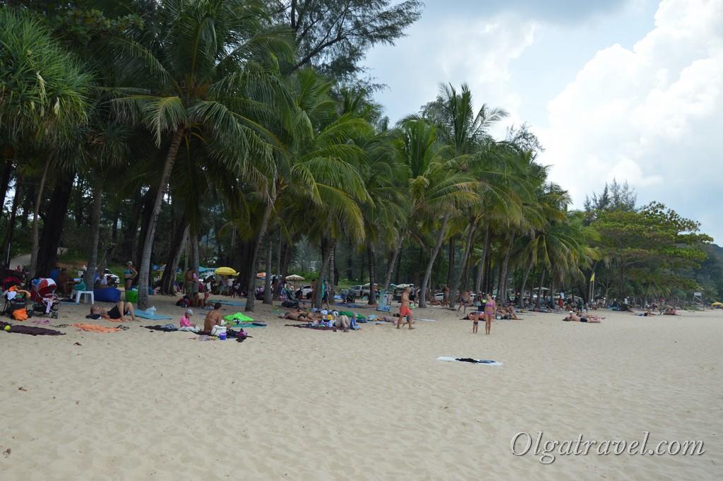 таиланд пхукет пляж сурин