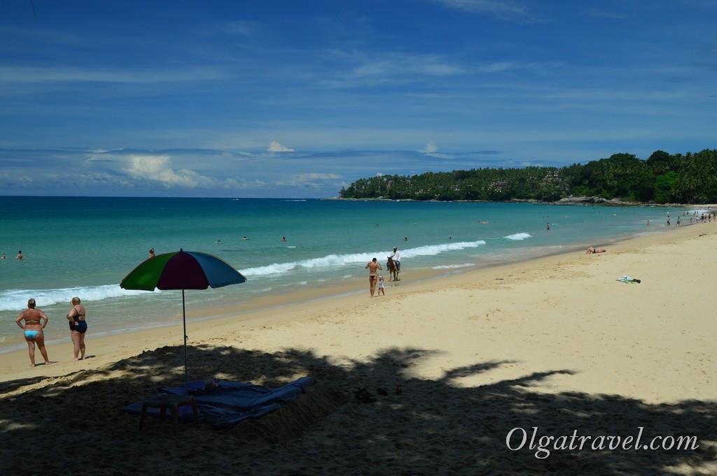 пляж Сурин Таиланд Пхукет