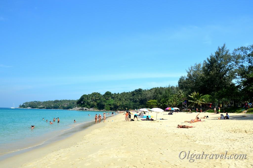 пляж Сурин бич