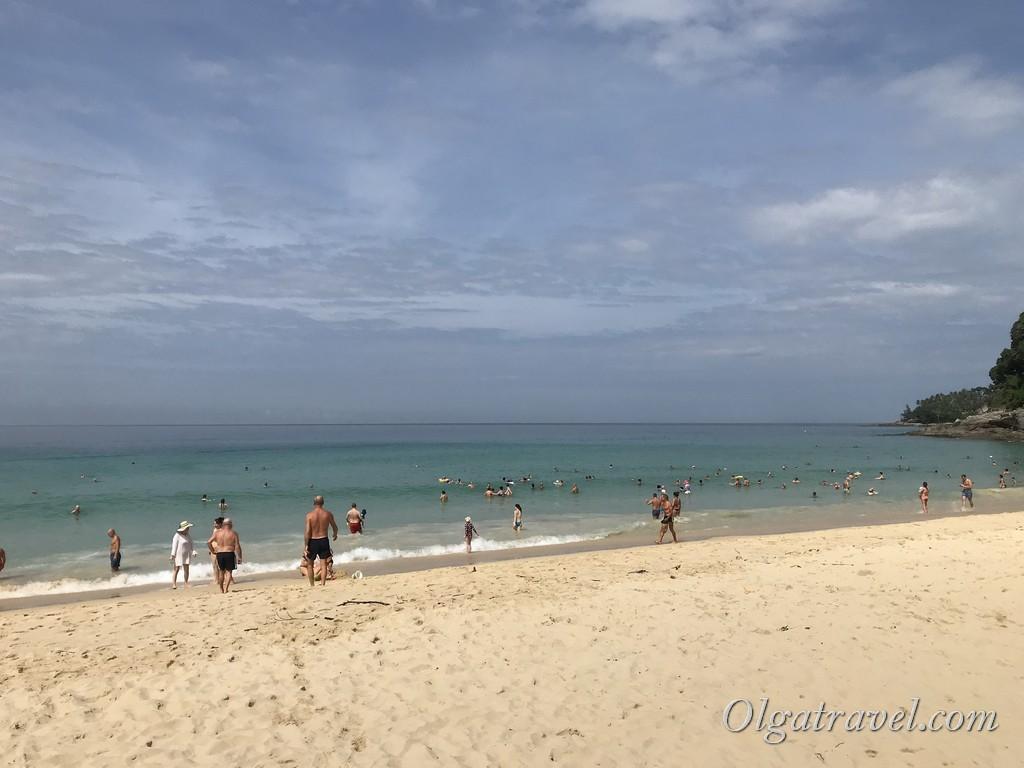 отдых на пляже Сурин отзывы