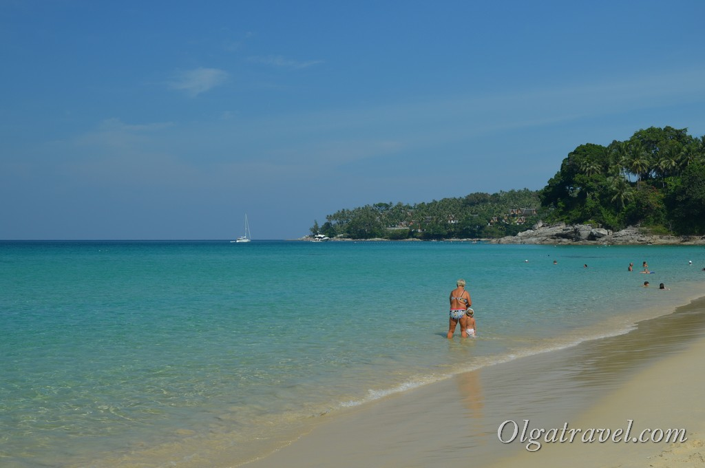 Сурин бич Таиланд