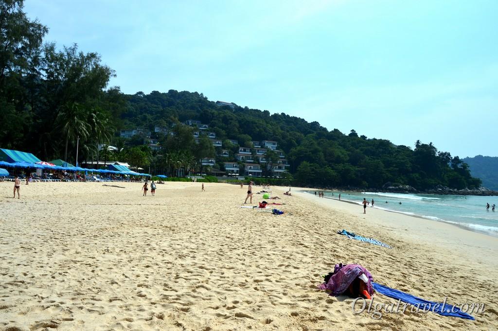 пляж Ката Ной Тайланд